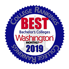 Washington monthly best colleges