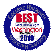 Washington Monthly - Best Bachelor's Colleges 2019