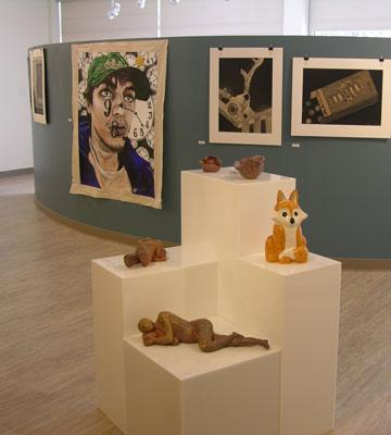 Artwork by students in annual Bethel College Student Art Exhibit