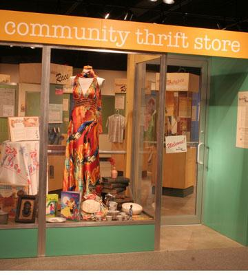 "The ""front door"" of the exhibit ""Sorting Out Race"""