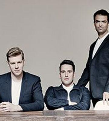 Part of the sextet The King's Singers