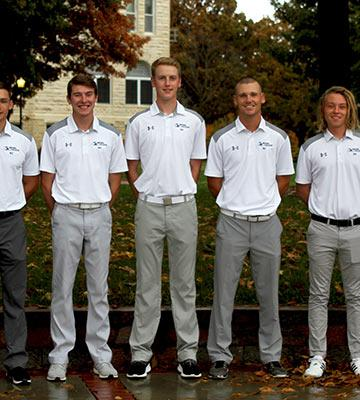 2018-19 men's golf team