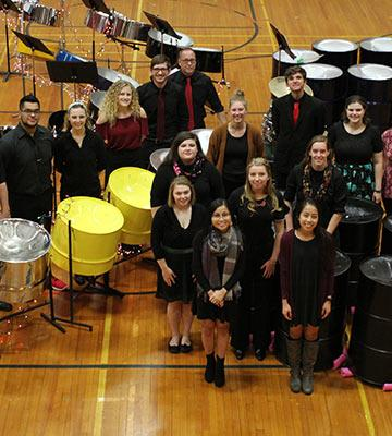 Bethel College Steel Drum Band