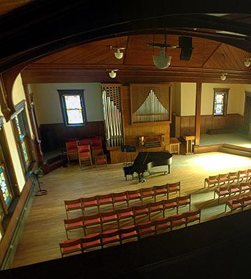 Ad Building chapel organ