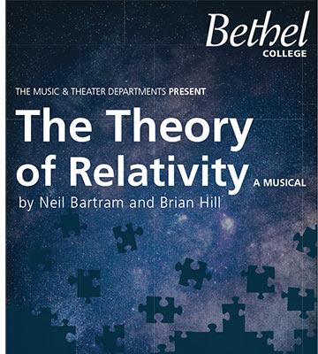 "Detail of ""The Theory of Relativity"" poster"