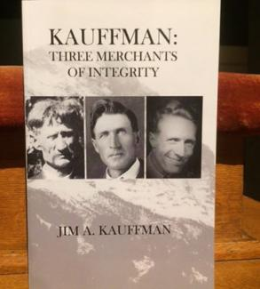 "Cover of ""Kauffman: Three Merchants of Integrity"""